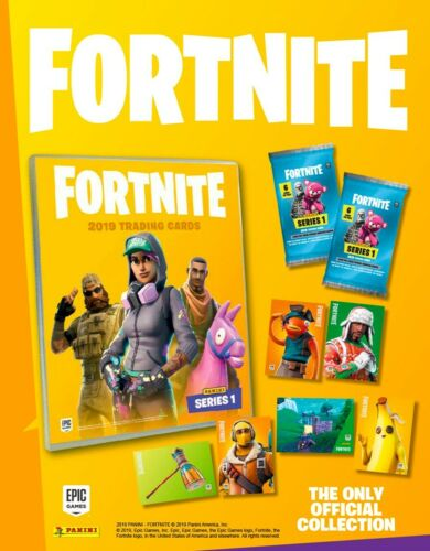 Choose From the List Fortnite Series 1 Panini Collector Cards