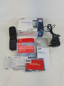 Samsung gt-e1150i Flip Handy OVP schwarz/grau W Zubehör