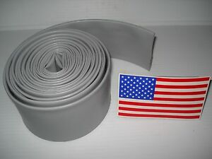 "20 ft - 3M Heat Shrink Tubing 2"" to 1/2"" (4:1 ratio) Flame Retardant"