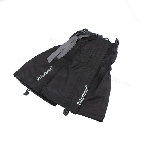 Pair of Waterproof Walking Gators Boot Hiking Climbing Leggings Trekking Gaiters