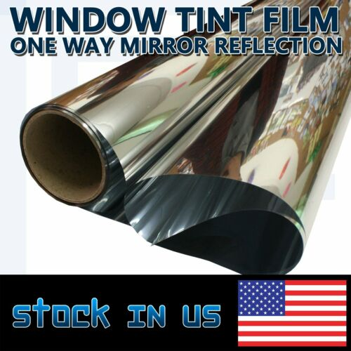 Glass Window Glare Control Film Protectors Privacy Office//Home//Commercial Tint