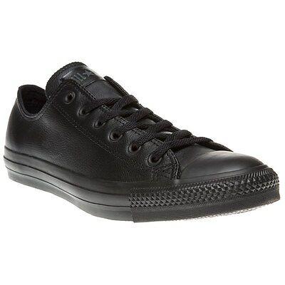 Black Converse UK Size 6 Mens 8 Womans