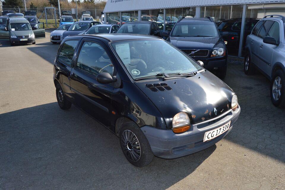 Renault Twingo 1,2 Benzin modelår 1997 km 252000 Sort ABS