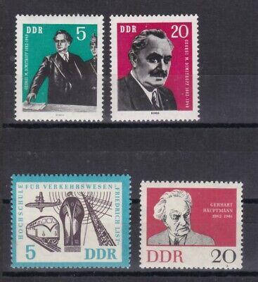 893-894 916 Und 925 Seien Sie Freundlich Im Gebrauch Ddr-ersttagsbriefe Motive Ddr 1962 Postfrisch Minr