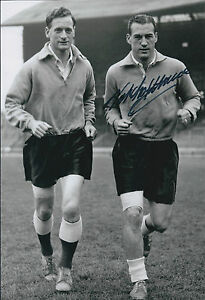 Nat-LOFTHOUSE-SIGNED-Autograph-Bolton-Wanderers-12x8-Photo-AFTAL-COA-England
