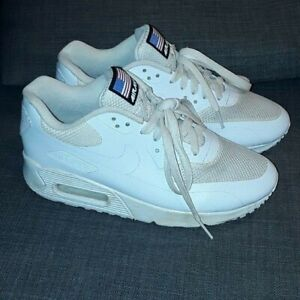 clone tecnico pezzo  NIKE AIR MAX 90 HYPERFUSE USA WHITE Size UK 4 QS 613841-110 Independence  Day | eBay
