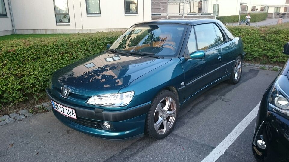 Peugeot 306, 2,0 Cabriolet, Benzin