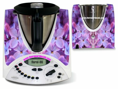 Code: Floral/_86 Thermomix Sticker Decal