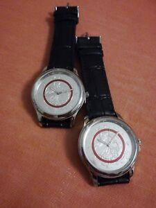 2-x-Armbanduhr-Tropische-Zone-zur-5-Euro-Muenze-fuer-den-Partner-identisch