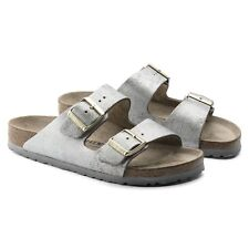 29bf4e8db7a4 item 3 BIRKENSTOCK ARIZONA WASHED METALLIC CREAM GOLD ROSE BLUE LEATHER  WOMEN S SANDALS -BIRKENSTOCK ARIZONA WASHED METALLIC CREAM GOLD ROSE BLUE  LEATHER ...