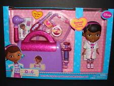 NEW Doc McStuffins Doctor's Bag Set + BONUS Doll Stethoscope Otoscope Disney Toy