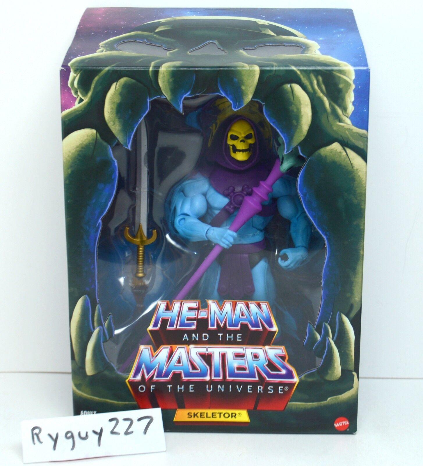 MOTUC, Skeletor 2.0, Masters of the Universe Classics, MOC, sealed, Filmation