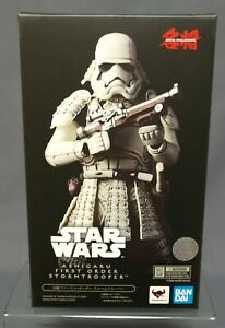 Japan BANDAI Meishou Movie Realization ASHIGARU FIRST ORDER STORMTROOPER