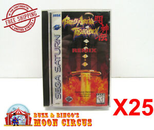 25x-SEGA-SATURN-GAME-CLEAR-PROTECTIVE-BOX-PROTECTOR-SLEEVE-CASE-FREE-SHIPPING