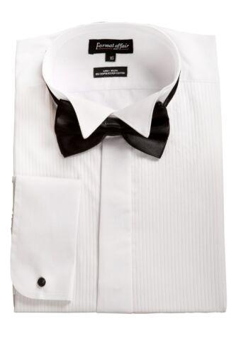WHITE WING Collar Camicia Da Smoking E Papillon