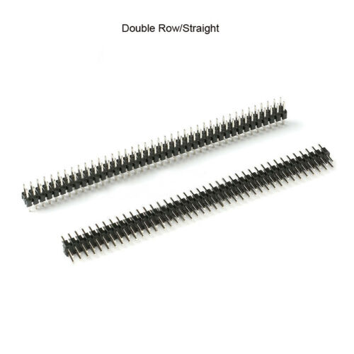 PCB Pin Straight//Bent Header Double//Single Row 40Pins Jumper Connector 2.0mm