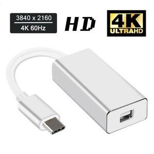 Thunderbolt-3-USB-C-to-Mini-DisplayPort-Converter-4K-60HZ-Type-C-Mini-DP-Adapter