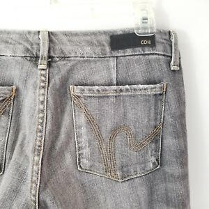 Citizens-of-Humanity-COH-Womens-Jeans-Sz-26-Faye-Stretch-Low-Waist-Gray-A53-10