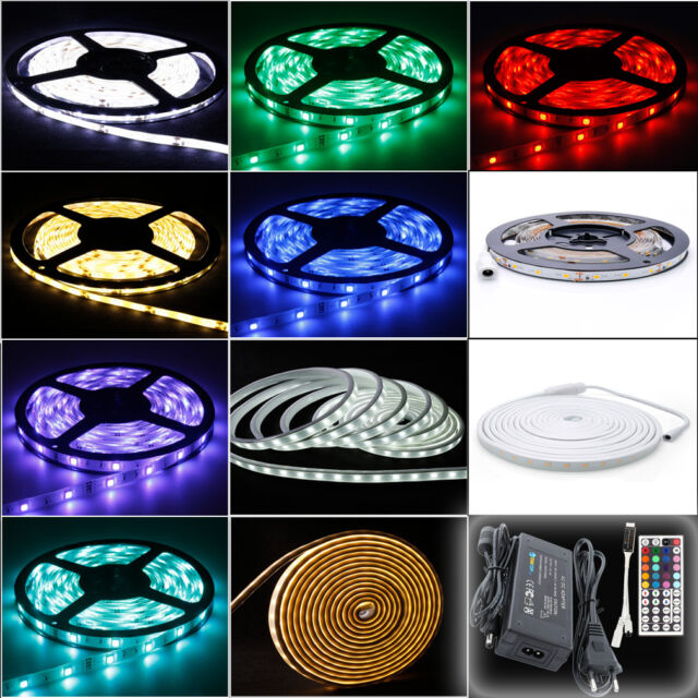 SMD3528/2835/5630/5050 Led lichtleiste 5M streifen Stripe Band 30/60/120 leds