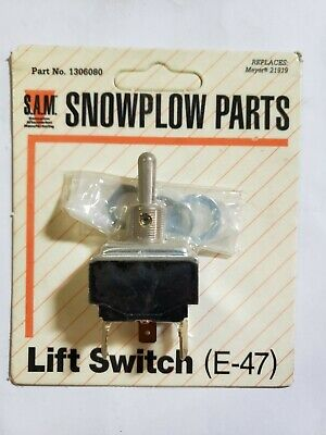 New Snow Plow LIFT SWITCH for Buyers SAM 1306080 for Diamond Meyer 21919 Blade