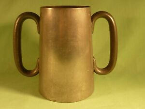 Antique-Pewter-Trophy-Loving-Cup-1913-120-Yards-Hurdles-Open-Ruthin-School