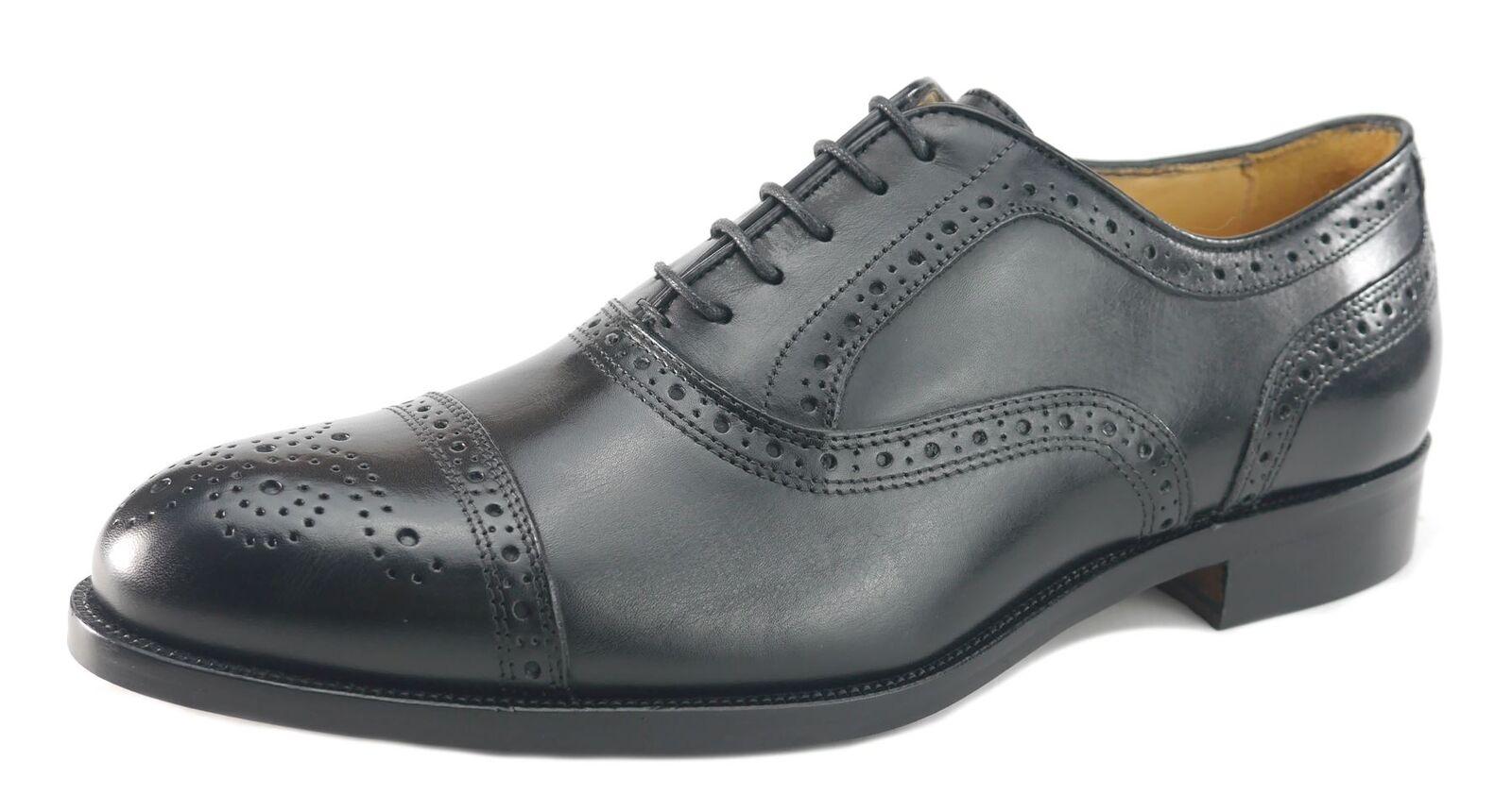 Mercanti Fiorentini Nairobi 7010  Leather Mens Brogue schn 65533rnero  caldo