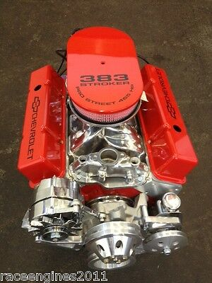383 STROKER THEME MOTOR 510HP ROLLER TURNKEY PRO STREET OPTIONCRATE ENGINE  SBC