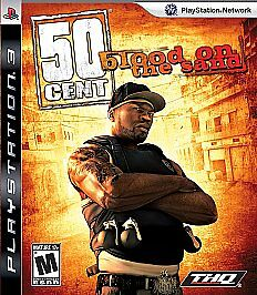 50 Cent Blood On The Sand Sony Playstation 3 2009 For Sale