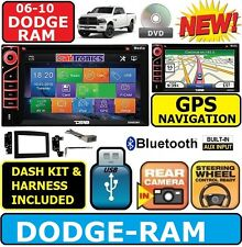 06 07 08 09 10 DODGE RAM NAVIGATION CD/DVD BLUETOOTH BT USB CAR STEREO RADIO