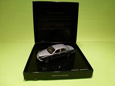MINICHAMPS 42 BENTLEY ARNAGE R 1:43 - RARE SELTEN - MINT CONDITION IN DEALER BOX
