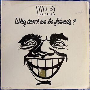 War – Why Can't We Be Friends? : Orig.1975 Vinyl LP w/ Poster UA-LA441-G CRC VG+