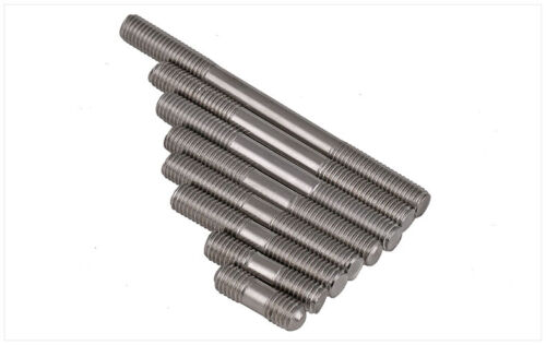 M5 M6 M8 Double End Threaded Stud Bar Rod Screws Bolts A2 304 Stainless Steel
