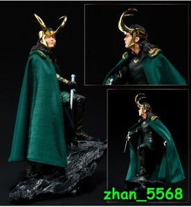 Marvel Thor Ragnarok Loki Statue PVC Figure New In Box 25cm