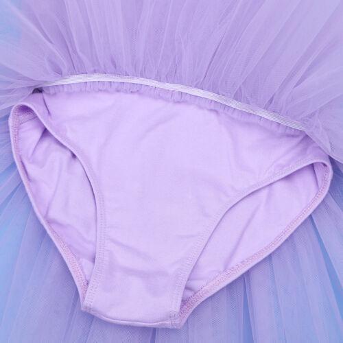 Girls Gymnastics Ballet Dress Toddler Kids Leotard Tutu Skirt Dance wear Clothes