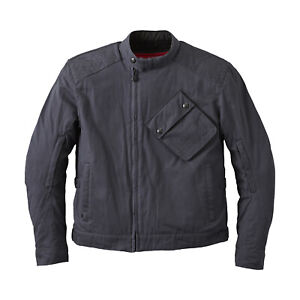 Indian Motorcycle Men's Waxed Cotton Sacramento Riding Jacket with Removable