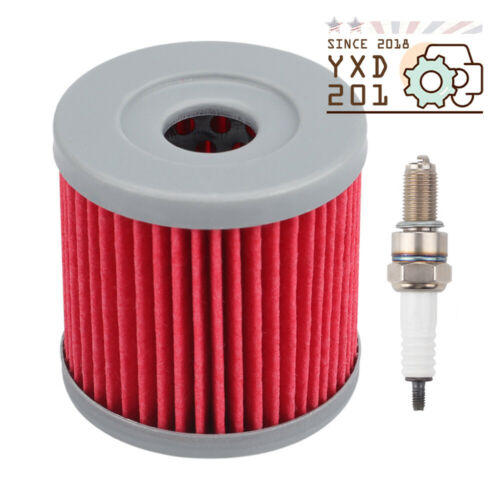 Oil Filter For 03-13 SUZUKI LT-Z400 03-06 KAWASAKI KFX400 ARCTIC CAT DVX400 ATV