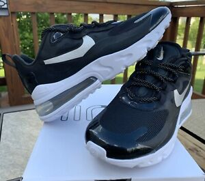 New Womens Nike Air Max 270 Black White Size 7 Shoes 150 Ct3426