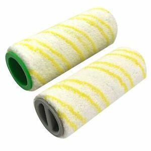 2PCS Rollers Set For KARCHER FC3 FC5 Cordless Wet /& Dry Hard Floor Cleaner
