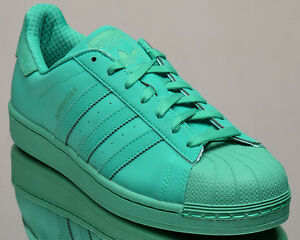 adidas superstar color verde