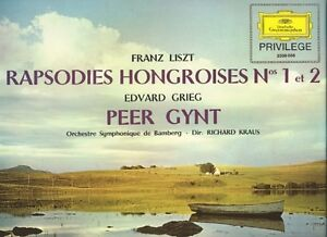 Liszt: Hungarian Rhapsodies Grieg: Peer Gynt Richard Kraus Bamberg SO tulips - Nordrhein - Westfalen, Deutschland - Liszt: Hungarian Rhapsodies Grieg: Peer Gynt Richard Kraus Bamberg SO tulips - Nordrhein - Westfalen, Deutschland