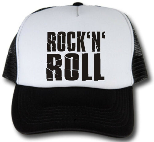 Rock N Roll Oldschool Trucker Cap Hot Rod US Car v8 Basecap Cappuccio Rockabilly