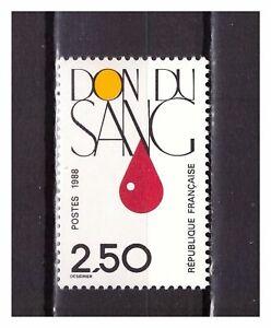 s25380-FRANCE-1988-MNH-Giving-blood-1v