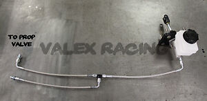 Silver Honda Acura Blackworks Wilwood Complete Brake Boost Delete Kit
