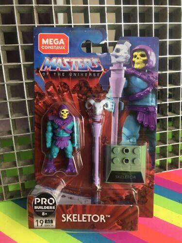 Mega Construx Masters Of The Universe Pro Builders SKELETOR FIGURE NEW