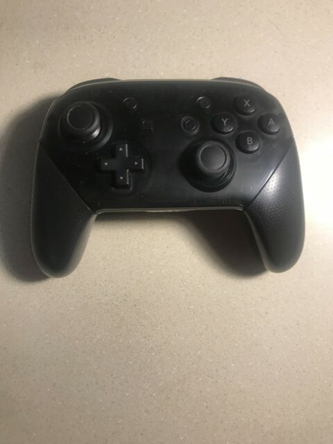 Nintendo Switch Pro Controller - Black Oem Original OEM VG Condition Wireless
