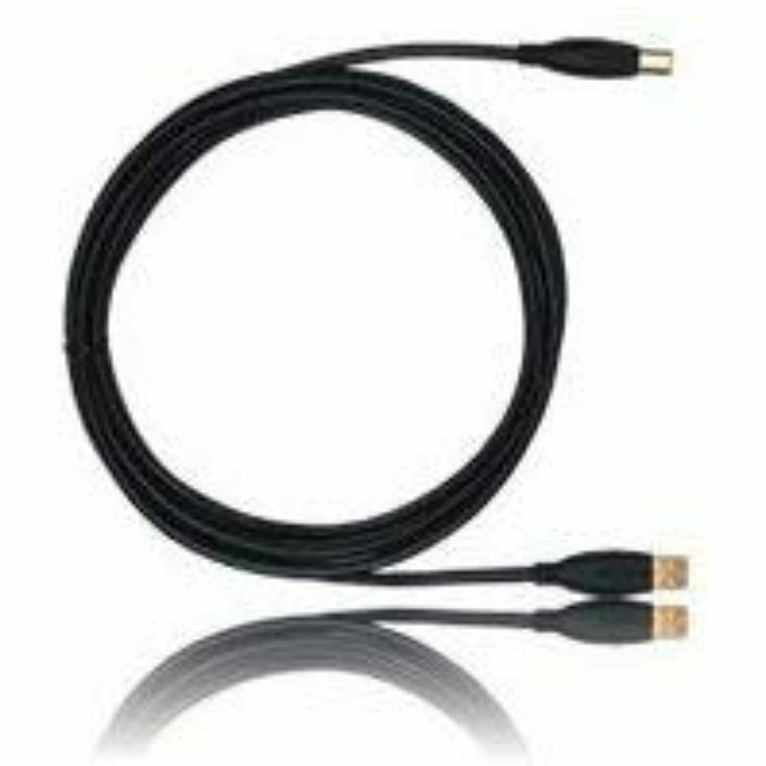 10-Ft. USB 2.0 Cable with A-B Male Connectors