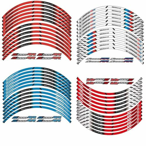 Motorcycle S1000RR Wheel Decals Reflective Rim Stripes For BMW S1000RR 2009-2016