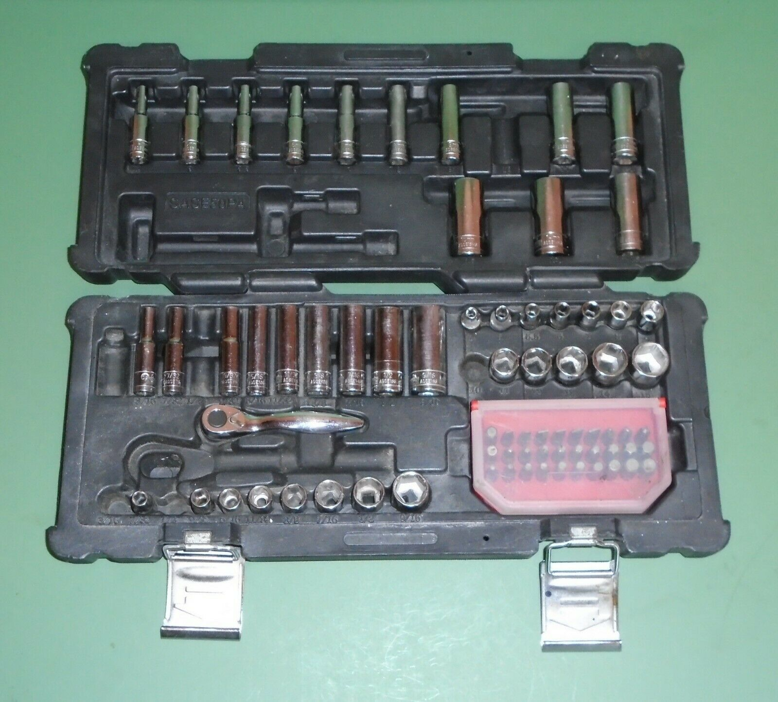 "MATCO Silver Eagle SASE50PA 1//4/"" Drive SAE /& Metric Service Socket Set Parts"