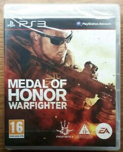 Medal of Honor: Warfighter (Sony PlayStation 3, 2012) Brandneu Versiegelt