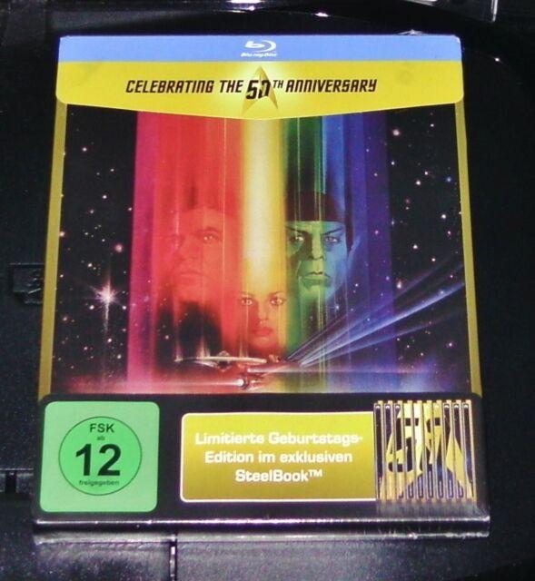 STAR TREK 1 DER FILM LIMITIERTE GEPRÄGTE STEELBOOK EDITION BLU RAY  NEU & OVP